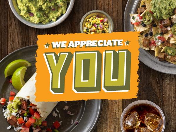 We appreciate YOU- Veterans Day
